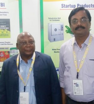 NFTRC duo attend World Food India 2017