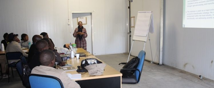 NFTRC Briefed farmers at LEA Horticultural Incubation Farms – Glenn Valley