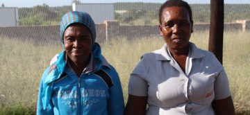 Two beneficiaries soldier on