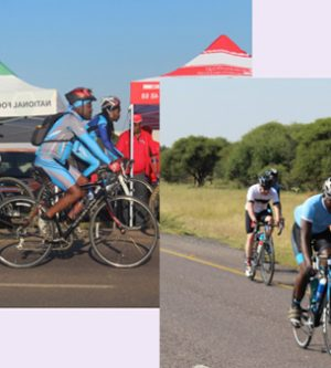 NFTRC Takes Part In Making Kgosi Malope II Cycling Challenge a Success