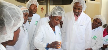 Another lot trained in fruit and vegetable processing